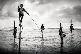 Stilit Fishermen - Sri Lanka