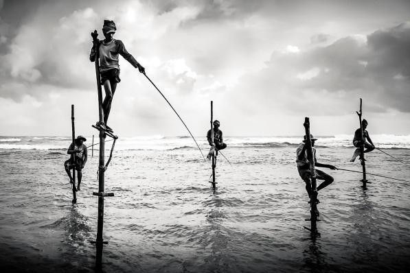 Stilit Fishermen - Sri Lanka 2107