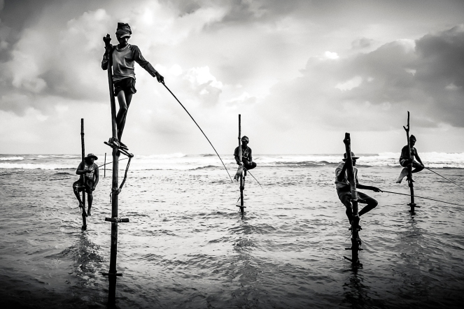 Stilit Fishermen - Sri Lanka