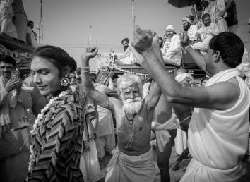 Sadhu Parade Kumbh Mela - 2019