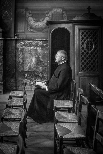 Priest in Paris