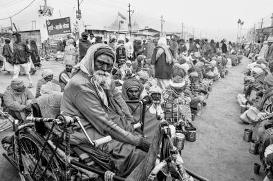 Wheelchair Waiting - Kumbh Mela